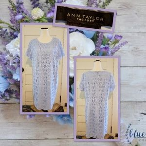 Ann Taylor Factory Eyelet Lace Dress